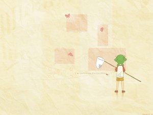Rating: Safe Score: 15 Tags: butterfly green_hair jpeg_artifacts koiwai_yotsuba yotsubato! User: jorge