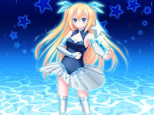 Rating: Safe Score: 71 Tags: 33paradox aizawa_hikaru blonde_hair blue blue_eyes breasts cleavage gloves long_hair microsoft os-tan rain stars thighhighs twintails water User: HawthorneKitty