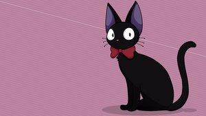 Rating: Safe Score: 8 Tags: animal cat jiji_(character) majo_no_takkyuubin vector User: RyuZU