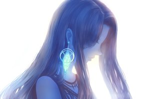 Rating: Safe Score: 52 Tags: bou_nin brown_hair close long_hair original polychromatic white User: RyuZU
