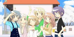 Rating: Safe Score: 26 Tags: hidamari_sketch hiro miyako nazuna nori sae ume yuno User: Cade