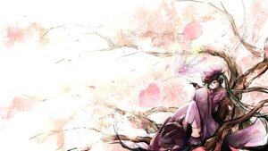 Rating: Safe Score: 125 Tags: cherry_blossoms chippucream flowers green_hair hatsune_miku petals senbon-zakura_(vocaloid) thighhighs twintails vocaloid User: FormX