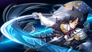 Rating: Safe Score: 101 Tags: appare!_tenka_gomen game_cg japanese_clothes katagiri_hinata katana kimono sword tokugawa_eimi weapon User: Maboroshi