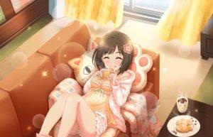 Rating: Safe Score: 39 Tags: annin_doufu cat_smile food idolmaster idolmaster_cinderella_girls idolmaster_cinderella_girls_starlight_stage maekawa_miku taiyaki User: RyuZU