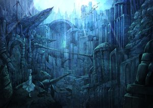 Rating: Safe Score: 66 Tags: city koruse original ruins scenic underwater User: FormX