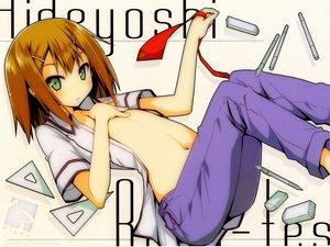 Rating: Safe Score: 49 Tags: all_male baka_to_test_to_shoukanjuu kinoshita_hideyoshi male trap User: meccrain
