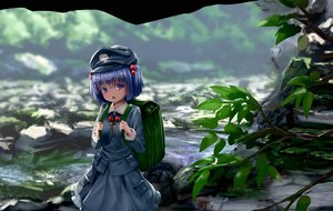 Rating: Safe Score: 28 Tags: blue_eyes blue_hair dress kawashiro_nitori ryosios scenic short_hair touhou water User: mattiasc02