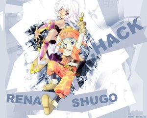 Rating: Safe Score: 0 Tags: .hack// .hack//legend_of_the_twilight kunisaki_rena kunisaki_shugo User: Oyashiro-sama