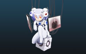Rating: Safe Score: 159 Tags: anthropomorphism cake companion_cube food glados portal User: 秀悟