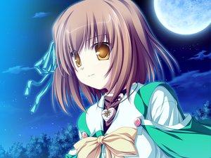 Rating: Safe Score: 7 Tags: game_cg koyuki_amagase magus_tale school_uniform short_hair tenmaso whirlpool yellow_eyes User: Oyashiro-sama