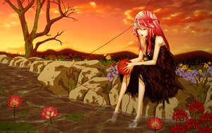 Rating: Safe Score: 45 Tags: guilty_crown pink_hair red_eyes yuzuriha_inori User: gnarf1975
