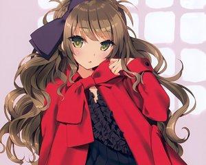 Rating: Safe Score: 111 Tags: brown_hair cropped dress green_eyes original scan tsurusaki_takahiro User: mattiasc02