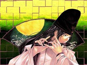 Rating: Safe Score: 3 Tags: all_male flute fujiwara_no_sai hikaru_no_go instrument male User: Oyashiro-sama