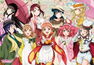 Rating: Safe Score: 19 Tags: apron aqua_eyes black_hair blonde_hair blue_hair book breasts brown_eyes brown_hair dress drink feathers food fruit gloves green_eyes group hat headdress kunikida_hanamaru kurosawa_dia kurosawa_ruby logo long_hair love_live!_school_idol_project love_live!_sunshine!! maid matsuura_kanan military ohara_mari orange_(fruit) orange_hair pink_eyes purple_eyes red_eyes red_hair sakurauchi_riko short_hair shorts tagme_(artist) takami_chika tsushima_yoshiko twintails umbrella watanabe_you wink yellow_eyes User: RyuZU