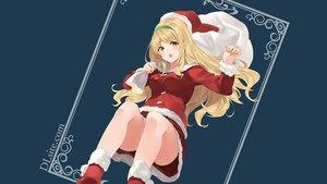 Rating: Safe Score: 65 Tags: blonde_hair christmas dille_blood dlsite.com hat long_hair natashya_(pommier) orange_eyes original santa_costume santa_hat User: winzz123