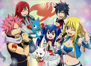 Rating: Safe Score: 8 Tags: animal armor black_hair blonde_hair blue_hair bluesnowcat breasts brown_eyes cat charle_(fairy_tail) dress erza_scarlet fairy_tail gray_fullbuster group happy_(fairy_tail) long_hair lucy_heartfilia male microphone natsu_dragneel navel pink_hair red_hair scarf short_hair skirt tattoo twintails wendy_marvell wings wink User: RyuZU