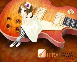 Rating: Safe Score: 16 Tags: guitar hirasawa_yui instrument k-on! photoshop signed User: shakugan_220192