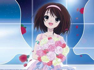 Rating: Safe Score: 31 Tags: flowers rose suzumiya_haruhi suzumiya_haruhi_no_yuutsu User: 秀悟
