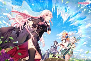 Rating: Safe Score: 47 Tags: clouds crossover dress gray_hair group hololive karyl logo long_hair male mori_calliope natsume_kokoro pecorine pink_hair princess_connect! rosuuri sky staff watermark yuuki_(princess_connect!) User: BattlequeenYume