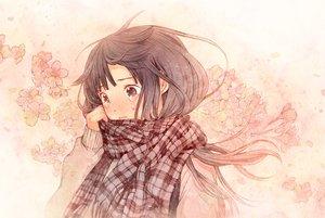 Rating: Safe Score: 70 Tags: blush cherry_blossoms flowers plasm sayoko sayonara_memories scarf tears User: w7382001
