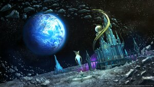 Rating: Safe Score: 10 Tags: building final_fantasy final_fantasy_xiv moon planet scenic space square_enix User: SciFi
