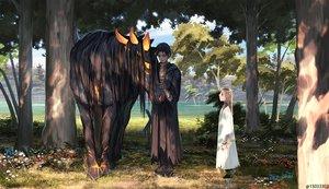 Rating: Safe Score: 41 Tags: animal arizuka_(13033303) horse male original watermark User: luckyluna
