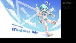 Rating: Safe Score: 18 Tags: anthropomorphism bandaid bikini loli me os-tan swimsuit windows User: Oyashiro-sama