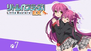 Rating: Safe Score: 52 Tags: 2girls futaki_kanata little_busters! saigusa_haruka school_uniform skirt tagme_(artist) twins User: Wiresetc