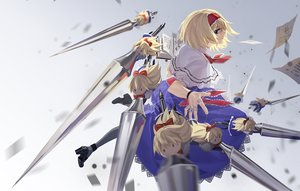 Rating: Safe Score: 28 Tags: alice_margatroid blonde_hair blue_eyes book bow doll dress headband mage paper rff_(3_percent) shanghai_doll short_hair touhou User: RyuZU