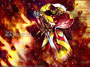 Rating: Safe Score: 6 Tags: clamp magic_knight_rayearth mecha robot User: Oyashiro-sama