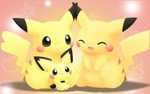 Rating: Safe Score: 84 Tags: pichu pikachu pokemon User: HawthorneKitty