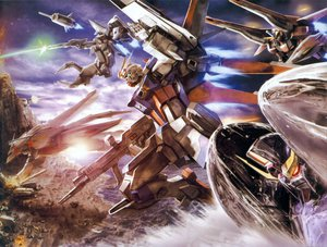Rating: Safe Score: 69 Tags: gundam_seed gundam_seed_destiny mecha mobile_suit_gundam User: Reza