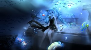 Rating: Safe Score: 146 Tags: animal deep-sea_girl_(vocaloid) fish hatsune_miku magicians vocaloid water User: humanpinka