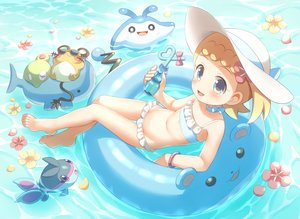 Rating: Safe Score: 54 Tags: bikini dedenne eureka_(pokemon) finneon flat_chest loli mantine marill pokemon porocha swim_ring swimsuit wailmer water zygarde User: mattiasc02