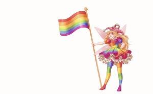 Rating: Safe Score: 16 Tags: blonde_hair clownpiece dress fairy hat long_hair orz_(kagewaka) pantyhose red_eyes sketch touhou white wings User: otaku_emmy