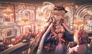 Rating: Safe Score: 34 Tags: blonde_hair bunny hat junpaku_karen long_hair original signed sword twintails weapon User: BattlequeenYume