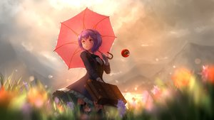 Rating: Safe Score: 53 Tags: aletto-mikan komeiji_satori purple_hair short_hair touhou User: Fepple