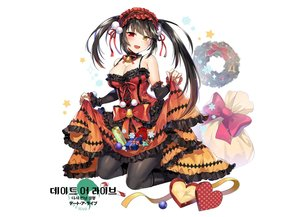 Rating: Safe Score: 29 Tags: bell bicolored_eyes black_hair blush boots bow breasts choker christmas cleavage date_a_live gijang goth-loli headdress logo lolita_fashion long_hair pantyhose ribbons skirt_lift tokisaki_kurumi twintails white User: otaku_emmy