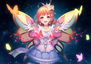 Rating: Safe Score: 35 Tags: braids butterfly crown dress gloves kokkeina_budou love_live!_school_idol_project love_live!_sunshine!! necklace orange_hair pink_eyes short_hair takami_chika wings User: otaku_emmy