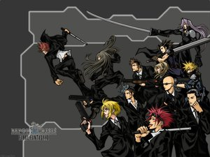 Rating: Safe Score: 30 Tags: before_crisis black_eyes black_hair blonde_hair blue_eyes brown_eyes brown_hair cloud_strife final_fantasy final_fantasy_vii goggles gray_hair green_eyes group gun long_hair male phone red_hair reno rude sephiroth short_hair suit sunglasses sword tie tseng weapon zack_fair User: Oyashiro-sama