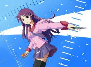 Rating: Safe Score: 16 Tags: bakemonogatari monogatari_(series) senjougahara_hitagi User: HawthorneKitty