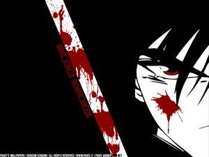 Rating: Safe Score: 12 Tags: all_male black blood himura_kenshin male rurouni_kenshin User: Oyashiro-sama