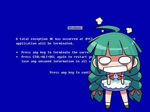 Rating: Safe Score: 6 Tags: anthropomorphism me os-tan windows User: Oyashiro-sama