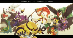 Rating: Safe Score: 24 Tags: aggron black_eyes black_hair buizel drapion electivire froslass gastrodon gliscor gloves hat infernape iyo_(kirakirahoshi) male ninjask pikachu pokemon purple_eyes purple_hair satoshi_(pokemon) shinji_(pokemon) staraptor torterra User: STORM