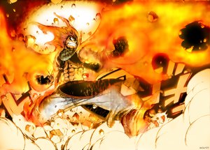 Rating: Safe Score: 62 Tags: all_male fairy_tail fire male natsu_dragneel scarf User: nemido