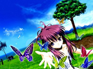 Rating: Safe Score: 8 Tags: butterfly minakami_chikage sister_princess tenhiro_naoto User: Oyashiro-sama
