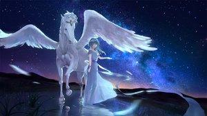 Rating: Safe Score: 66 Tags: animal horse original pegasus sombernight User: RyuZU