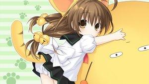 Rating: Safe Score: 40 Tags: animal_ears brown_eyes brown_hair catgirl di_gi_charat loli long_hair puchiko tail tsunako User: TohruKobayashi1