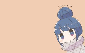Rating: Safe Score: 38 Tags: blue_eyes blue_hair blush chibi inishie shima_rin short_hair translation_request yuru_camp User: RyuZU