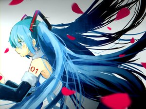 Rating: Safe Score: 13 Tags: hatsune_miku long_hair twintails vocaloid User: luckyluna